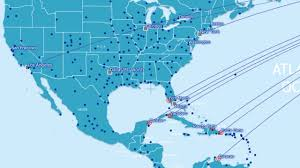 Air New Zealand Route Map by Airberlin Kilroy
