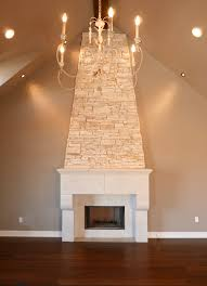 a ventura homes custom fireplace limestone white stone stone