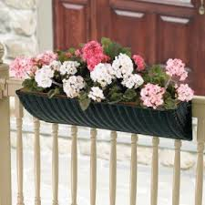 deck railing planters hayneedle