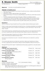appealing administrative assistant resume qualifications 39 for