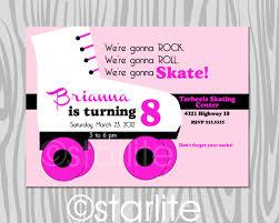 40th birthday ideas roller skate birthday invitation templates