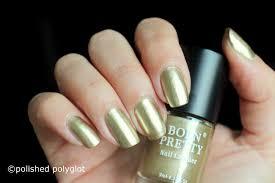 nail art metal series nail polish with mirror effect from born