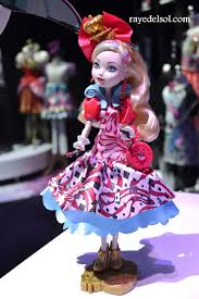 Ever After High Apple White Doll Way Too Wonderland Apple White Doll Review Raye Del Sol