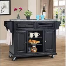 kitchen islands with granite granite kitchen islands carts you ll wayfair