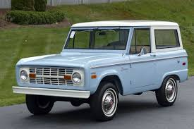 classic ford cars vintage ford broncos are more expensive than ever bloomberg
