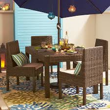 echo beach latte dining table pier 1 imports