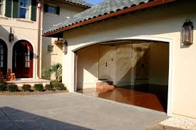 garage design house haammss decoration outdoor floor coating epoxy in front of garage house and inside with brown tiles ideas