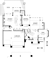Floor Plans For Sloped Lots Three Story Plan For A Sloping Lot 69074am Architectural