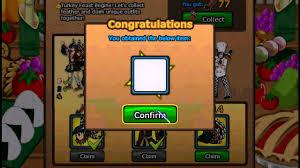 thanksgiving congratulations ninja saga thanksgiving event all rewards youtube