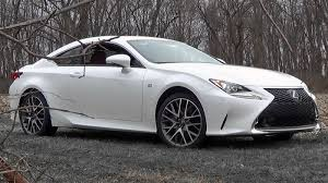 lexus rcf white interior 2016 lexus rc 350 f sport review youtube