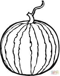 watermelon plant clipart black and white clipartxtras