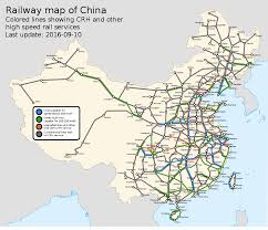 Germany Rail Map by High Speed Rail In China U2013 Travel Guide At Wikivoyage