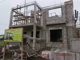 two story house design savannah trails house construction project in oton iloilo