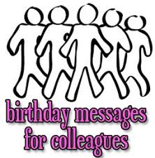 birthday messages for colleagues and coworkers