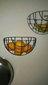 wall fruit basket customize kitchen hanging fruit basket bin crate snack supply