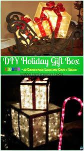 diy outdoor christmas lighting craft ideas