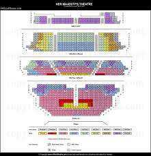 Seat Map Her Majesty U0027s Theatre London Seat Map And Prices For The Phantom