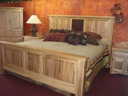 wood king size headboard log bedroom sets 29 best rustic bedding images on pinterest