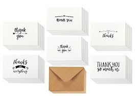 where to buy thank you cards thank you cards 36 count thank you notes kraft