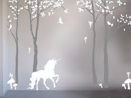 bambizi magical unicorn wall sticker magical unicorn wall sticker