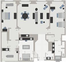 Presidential Suite Floor Plan by Penthouse Suite Las Vegas Suites The Palazzo Las Vegas