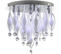 Searchlight Ceiling Lights Searchlight Spindle 6 Light Ceiling Light Polished Chrome Finish