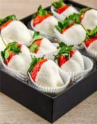 White Chocolate Dipped Strawberries Dipped Strawberries Freshly Delivered By Netflorist