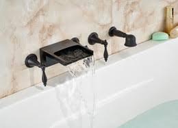 Roman Tub Faucet Bronze Discount Bronze Waterfall Wall Tub 2017 Bronze Waterfall Wall