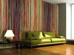 contemporary striped wallpaper room design ideas
