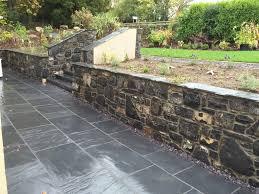 garden walls stone stone masonry stone masons north wales rw masonry