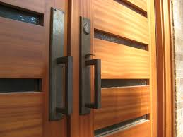 exterior design alluring natural oak double modern front door