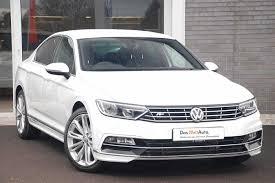 white volkswagen passat 2015 used volkswagen passat r line white cars for sale motors co uk