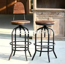 Outdoor Swivel Bar Stool Bar Stool Rustic Swivel Bar Stool Rustic Outdoor Swivel Bar