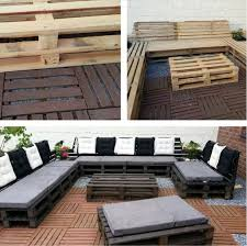 Palet Patio Diy Outdoor Pallet Patio Furniture Craft Like This