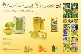 fruit boxes c nectar ambient advert by ageisobar real fruit boxes ads of