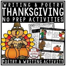 thanksgiving writing i am thankful for fall activities