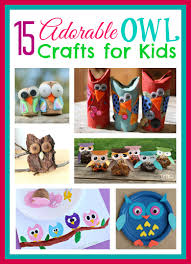 these owl gifts are the perfect diy craft for kids to make kids