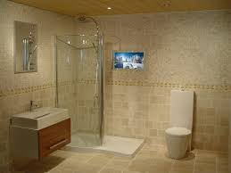 tv behind mirror bathroom home decoration ideas