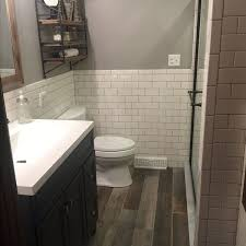 Wood Floor Bathroom Ideas Best 25 Wood Tile Bathrooms Ideas On Pinterest Wood Tile