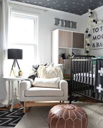 Icy Avalanche Sherwin Williams Our Baby Boys Nursery Reveal Neutral Palette Leather Ottoman