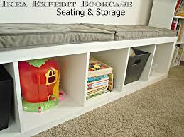 Bookcase Bench Amazing Ikea Expedit Bookcase Bench Interior Decorating Ideas Best