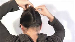 hairstyle 1 minute french twist with a stick youtube