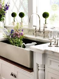 polished nickel kitchen faucets kitchen topiary cottage kitchen bakes and company