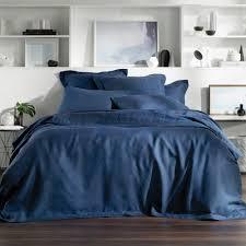 abbotson linen tailored quilt duvet cover by sheridan