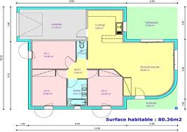 plan maison simple 3 chambres plan maison plain pied 120m2 9 plan de maison simple 3 chambres