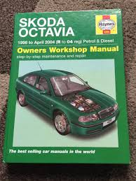 octavia mk1 haynes manual parts for sale briskoda