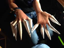 Origami Paper Claws - make origami paper claws