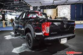 nissan navara interior manual new nissan navara black edition 2017 bangkok motor show