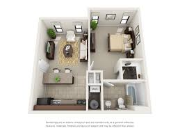 Floor Plan Of An Apartment 1 2 And 3 Bedroom Floor Plans Ridge Crossings Apartments
