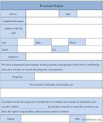 notice forms